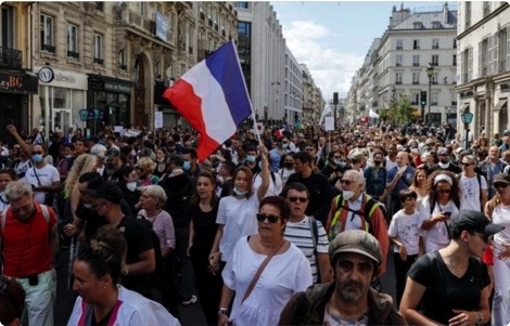 Must Watch! Thousands March in France as Nationwide Opposition to Covid ID Shows No Signs of Fizzling Out 5b71cb83-a604-4903-acc8-193f7097921e_4_5005_c
